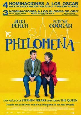 2ª PELICULA VISTA EN EL CINE EN 2014: PHILOMENA